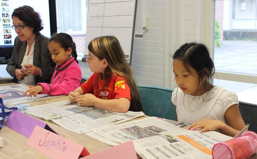 Nieuws lezen op de Brede School Academie in Utrecht
