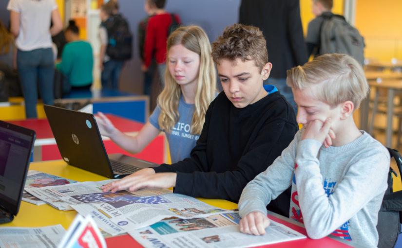 Forse stijging gebruik Nieuwstool op scholen