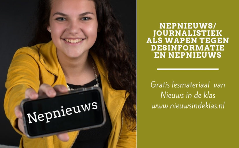 Lesmateriaal Journalistiek als wapen tegen nepnieuws en desinformatie