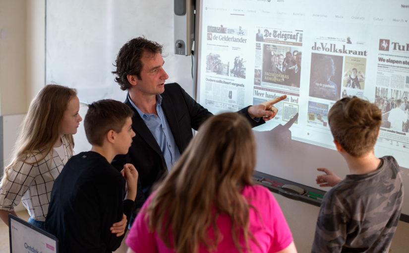 Actuele opdrachten bij Nieuws in de klas