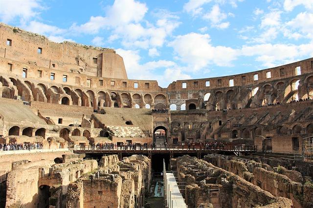 Actuele opdracht: het Colosseum wordt gerenoveerd